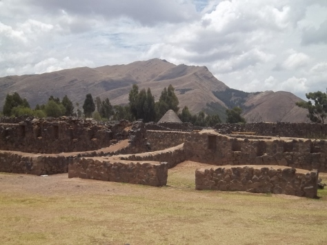 Raqchi - Ruínas do templo dedicado ao deus Wiracocha.