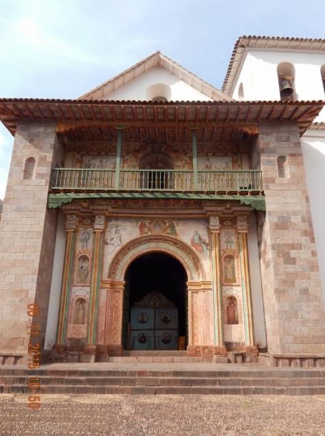 Iglesia de San Pablo de Andahuaylillas. Foto: Marilia Boos Gomes.