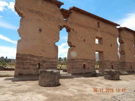 Ruínas do Templo Dedicado ao Deus Wiracocha.