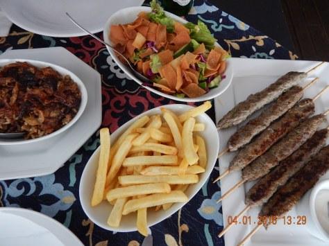 Restaurante Marhaba em Jurerê.