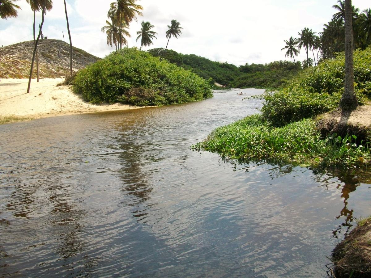 BRASIL, RN - São Miguel do Gostoso - Flutuação Rio Punaú.